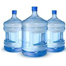 5 gallon jugs of water